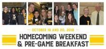 CPH Homecoming Pre-Game Breakfast